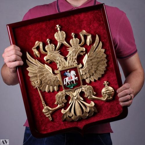 Герб России ручной работы
