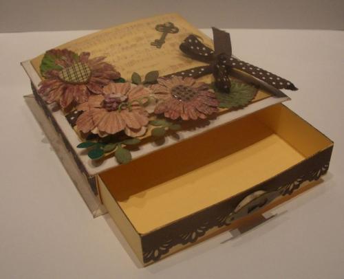 Открытка-коробочка
