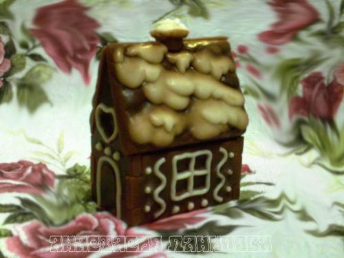 Глицериновое мыло Пряничный домик