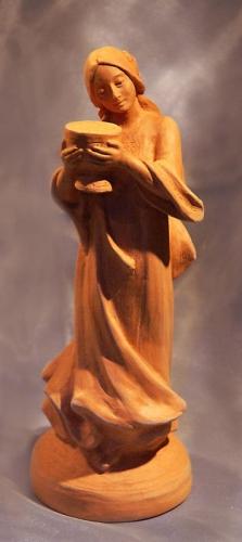 """""""Мария Магдалина"""" скульптура из керамики"""