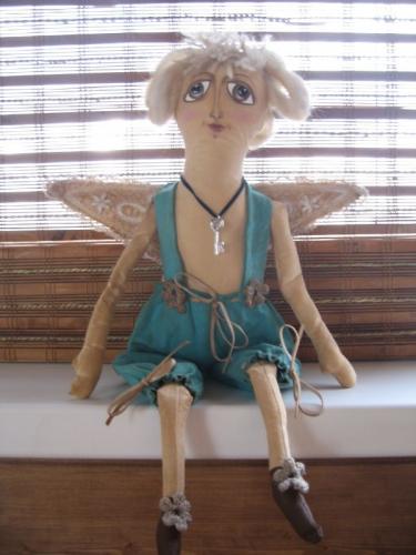 """Интерьерная кукла """"Пряничный ангел"""""""