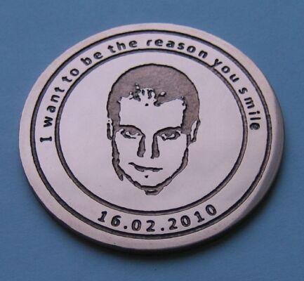 Подарочная медаль с портретом