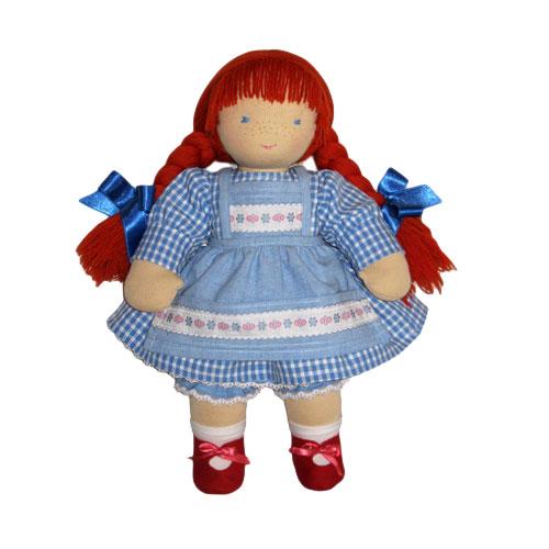 Вальдорфская кукла Джинджер