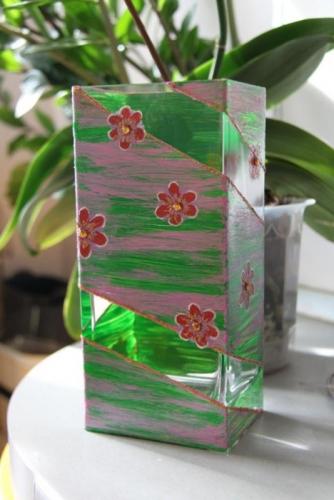"""ваза стеклянная """"Вдохновение"""""""