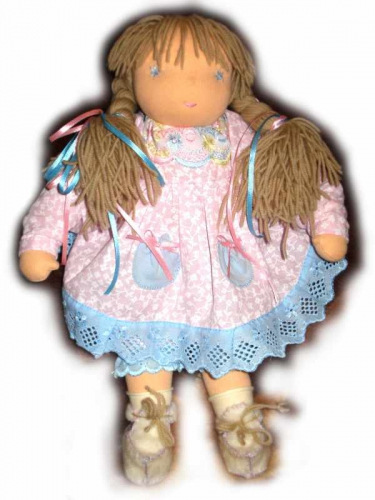 Вальдорфская кукла Розочка
