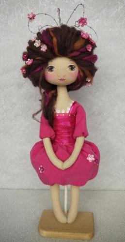 Декоративная текстильная Кукла