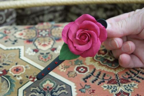 Цветы из полимерной глины Деко
