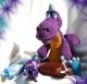 Вязаная игрушка -Конфетный Дракоша