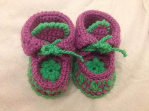 Пинетки-сапожки для малышей