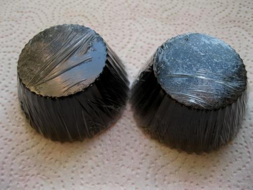 кекс с углем