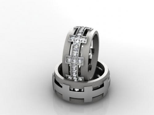 Обручальные кольца, кулоны, значки