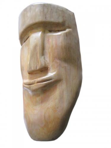 """Маска деревянная интерьерная """"Статуя"""""""