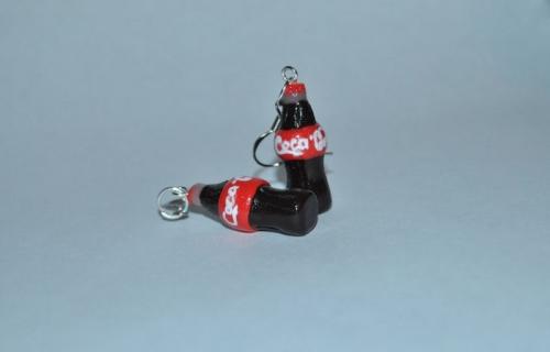 серьги и кулон ''Coca-Cola''