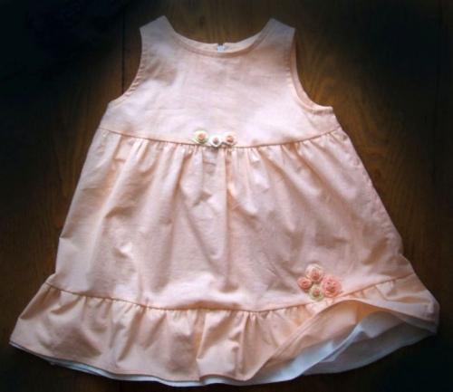 Платье из хлопка на девочку размер 92