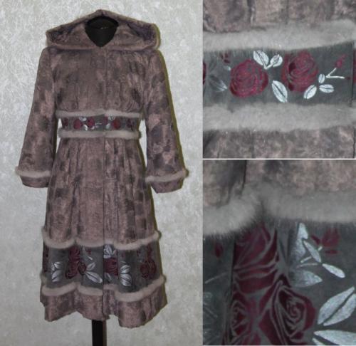 Пальто демисезонное утепленное женское