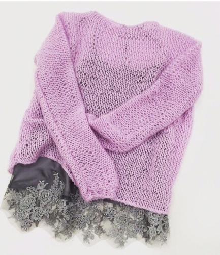 прозрачный свитер сетка