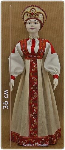 Куклы в костюмах народов России и Поволжья