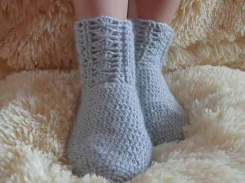 Тёплые домашние носки