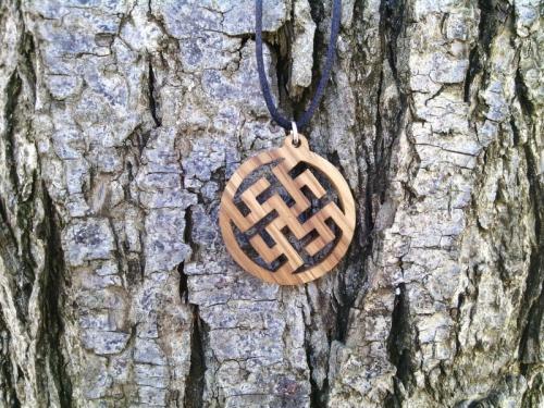 обереги из дерева, оберег Цветок Папоротника , славянский оберег