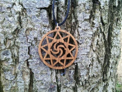 обереги из дерева, оберег Символ Рода в Инглии, славянский оберег
