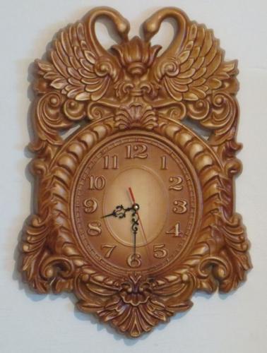 """ Лебеди""Часы для дома."