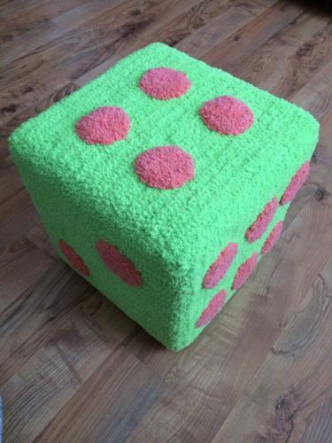 Мягкий кубик