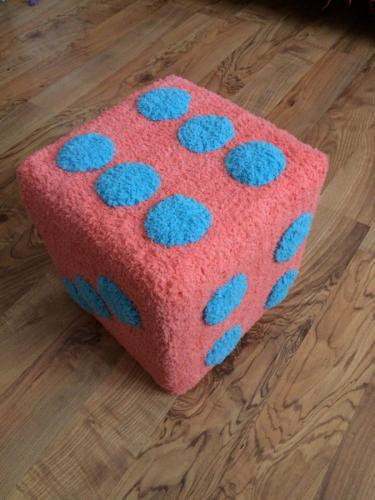 Коралловый кубик