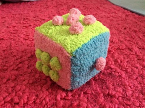 Разноцветный кубик