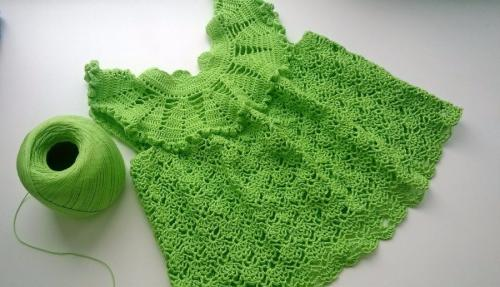 Платье  Весенняя зелень