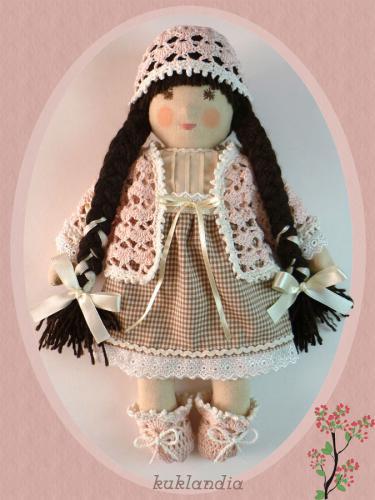 Рози, вальдорфская кукла ручной работы