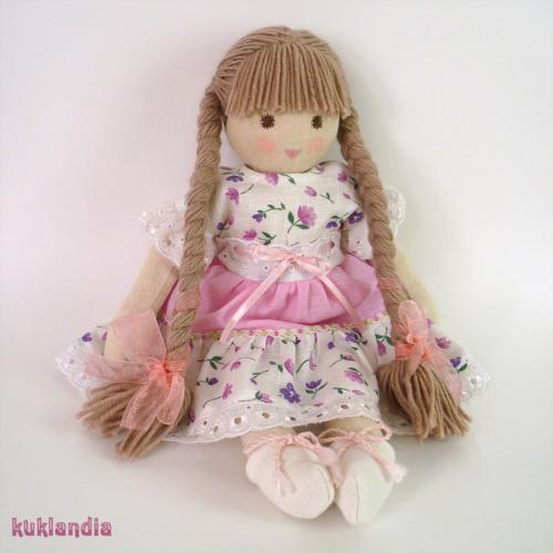 Лулу, вальдорфская кукла ручной работы
