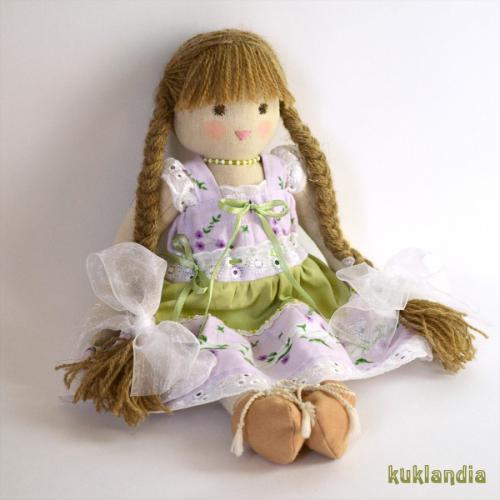 Виола, вальдорфская кукла ручной работы