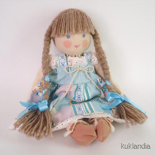 Тина, вальдорфская кукла ручной работы