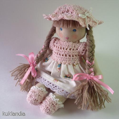 Неженка, вальдорфская кукла ручной работы