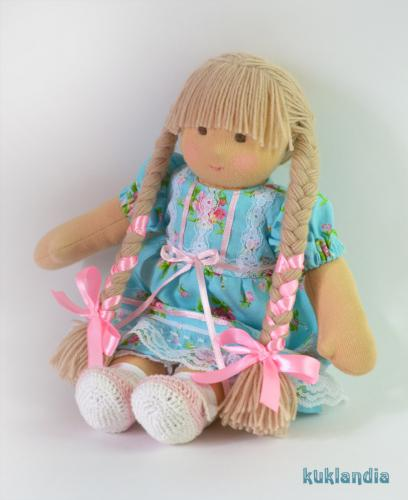 Белочка, вальдорфская кукла ручной работы