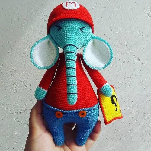 Слонёнок Марио