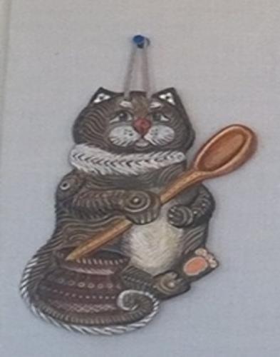 """Кот""""Лакомка""""."""